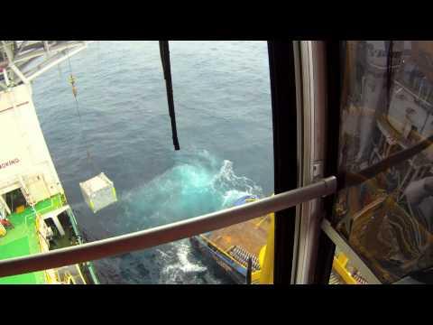 Op de Guindaste offshore..