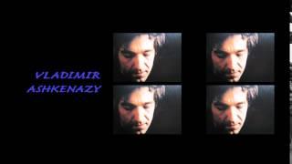ASHKENAZY, Beethoven Piano Sonata No.31 in A flat major, Op.110