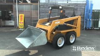 Repeat youtube video 【中古】【完売】TCM スキッドステアローダ ボブキャット 543