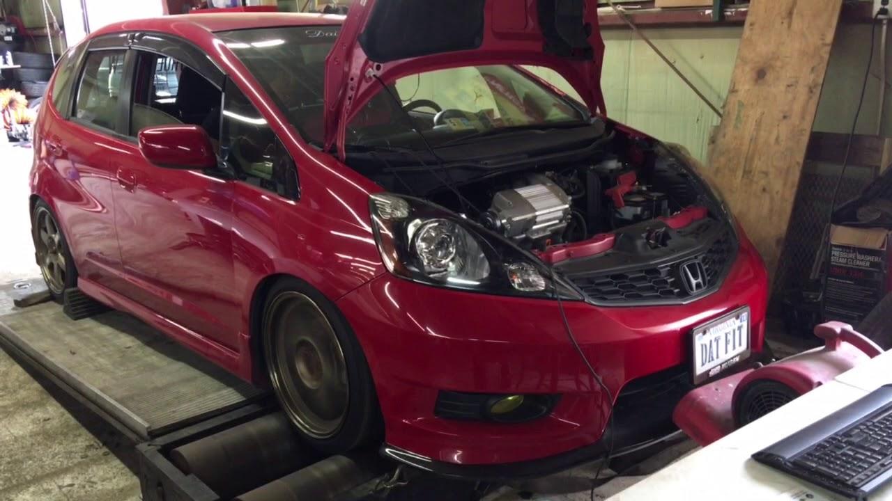 Sprintex Supercharged Honda Fit Dyno Livauto