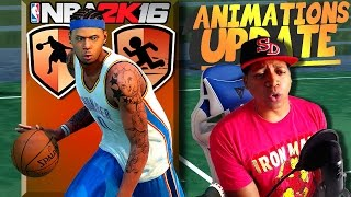 ANIMATIONS UPDATE NBA 2K16 - My Best Ankle Breaker Dribbles, Jump Shot Release, Dunk Packages & More
