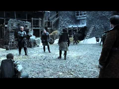 Jon Snow Fights For Samwell Tarly - Game of Thrones 1x04 (HD)