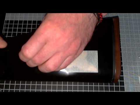How To Apply Vinyl Stickers On  Shotguns