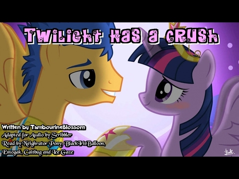 Pony Tales [MLP Fanfic Readings] Twilight Has A Crush (romance/sad/slice-of-life - Flash/Twilight)