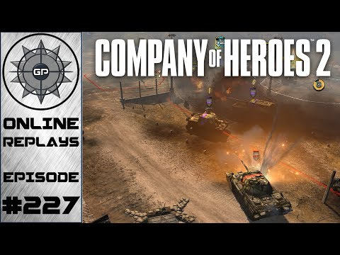 Company of Heroes 2 Online Replays #227 - American Firepower FTW!