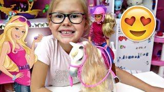 ODJAZDOWY INTERAKTYWNY KOŃ BARBIE :) Kto zrobił bałagan w kuchni - historyjka Barbie