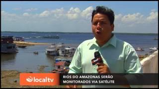 Reportagem - Monitoramento via satélite do Rio Amazonas pode ajudar a prevenir cheias