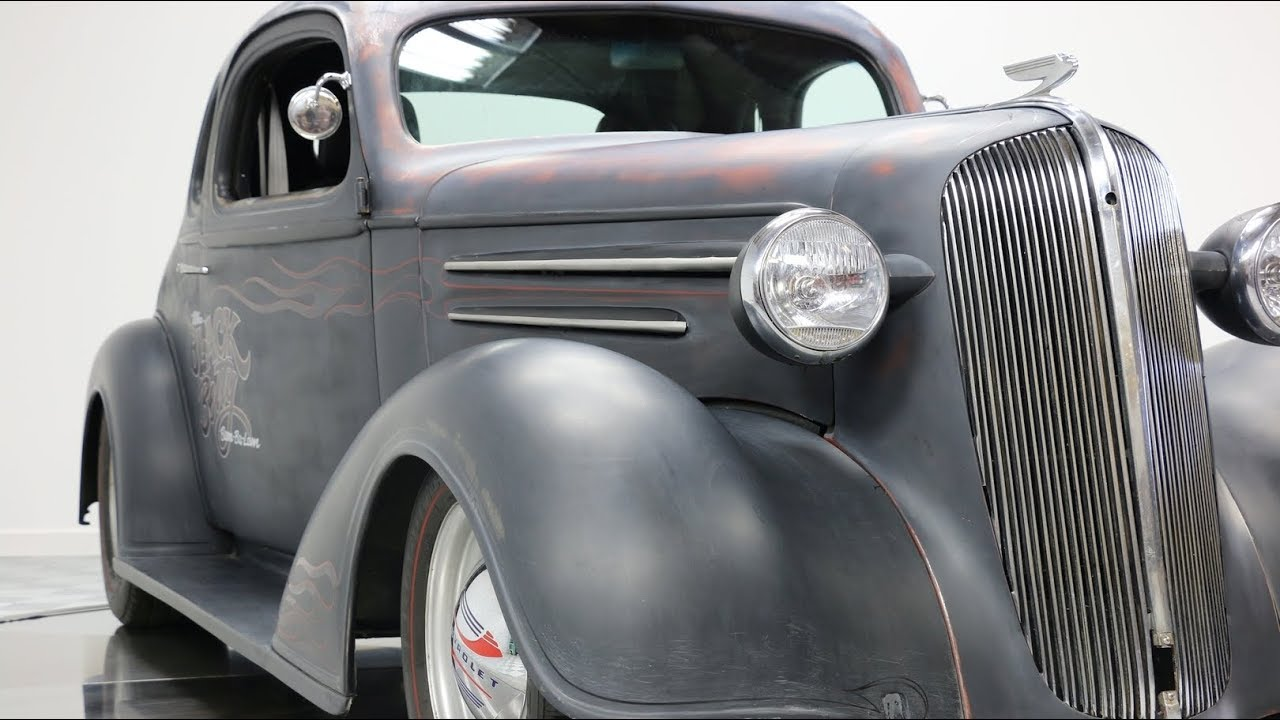 1936 Chevrolet 5 Window Coupe Hot Rod - Vintage Motorcars - Sun Prairie, WI