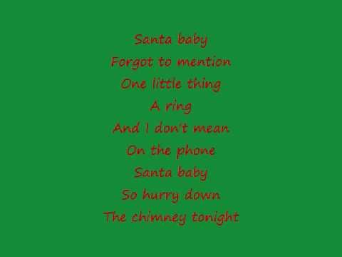 Taylor Swift ~Santa Baby~