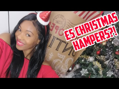 LAST MINUTE CHRISTMAS GIFTS FOR A FIVER?! - DIY HAMPERS FOR £5!!