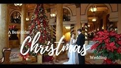 Festive Christmas Wedding Ideas on a Budget   Ideas for a Christmas Wedding   Pretty Designs