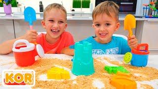 블라드와 니키는 같은 장난감을 원한다  아이들을위한 컬렉션 비디오