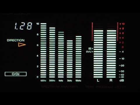 Sony TC-RX80ES - Tape-Deck-Display