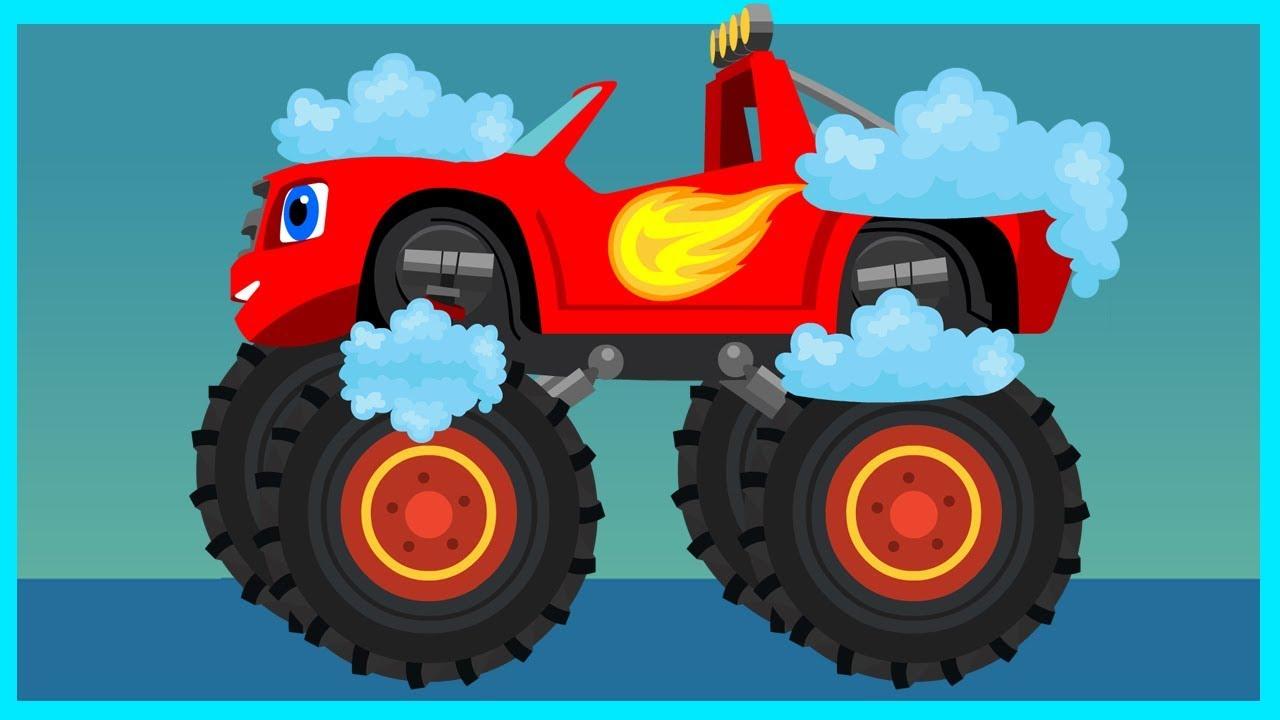Автомойка - Вспыш и чудо-машинки - Мультик для мальчиков ...
