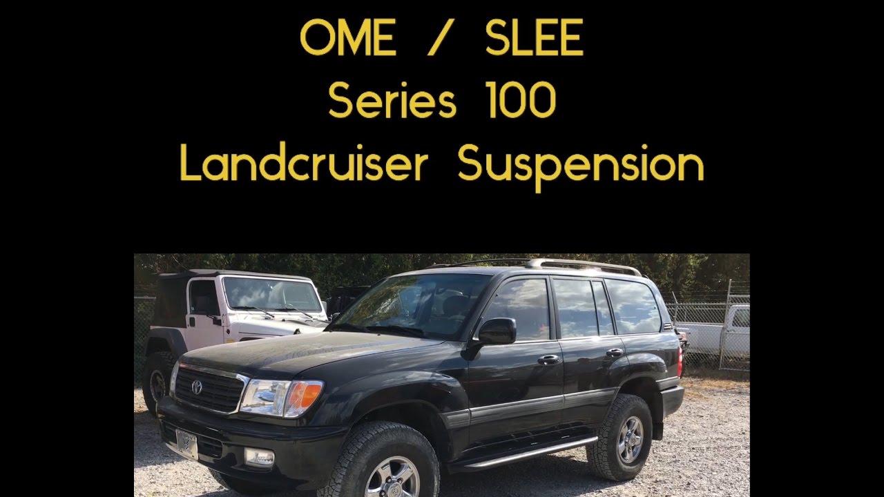Slee / OME Series 100 Landcruiser Suspension