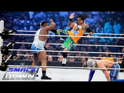Jimmy Uso vs Big E vs Fernando vs Cesaro - Fatal 4-Way Match: SmackDown, March 26, 2015