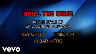 Eric Burdon And War - Spill The Wine (Karaoke)