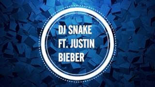 Dj Snake Ft. Justin Bieber Let Me Love You Lyrics.mp3