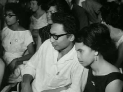 Schoonheidswedstrijd in Paramaribo (1964)