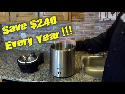 SAVE $240 Every Year By Simply Purifying Your Own Water At Home! SUPER EASY!!
