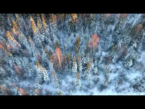 Drone testing north of Yellowknife