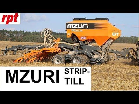 Video MZURI STRIP-TILL technologie jednoho přejezdu