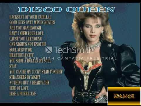 CC Catch, Album Disco Queen