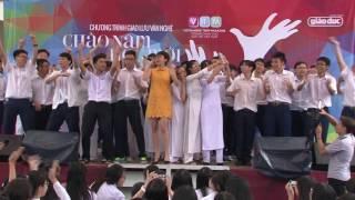 [VTM channel ] VTM Tours 2015 Tóc Tiên hát ca khúc Ngày mai tại Trường THPT chuyên Lê Hồng Phong