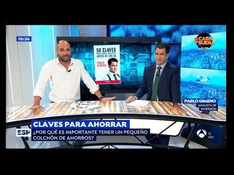 Claves para ahorrar por Pablo Gimeno en Espejo Público
