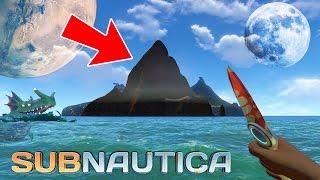 Subnautica - EXPLORING THE SECRET ISLAND!! Subnautica Part 4 Gameplay! (Subnautica Gameplay)