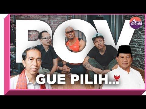 POV - PILIH JOKOWI ATAU PRABOWO? Feat. DEDDY CORBUZIER