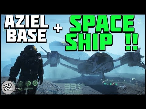 NEW Aziel Base and SPACESHIP !! Lets Play Osiris New Dawn Gameplay Z1 Gaming