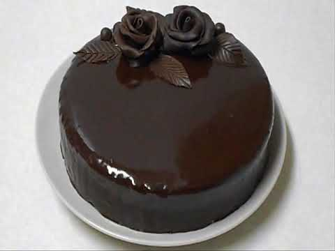 Chocolate Ganache Cake chocolate ganache - youtube