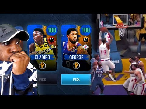 100 OVR PAUL GEORGE In SIGNATURE PACK OPENING! NBA Live Mobile 20 Season 4 Gameplay Ep. 40