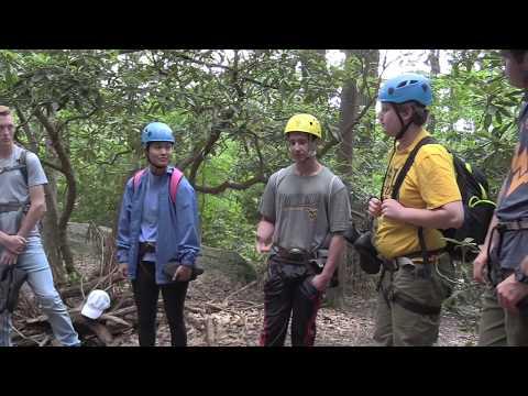 Adventure West Virginia: Rock Climbing at Coopers Rock
