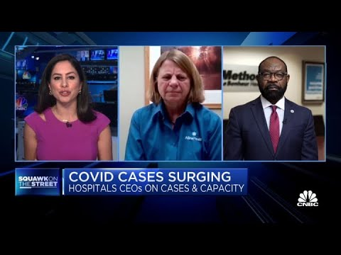 Hospital CEOs on handling case surges, health-care employee protection