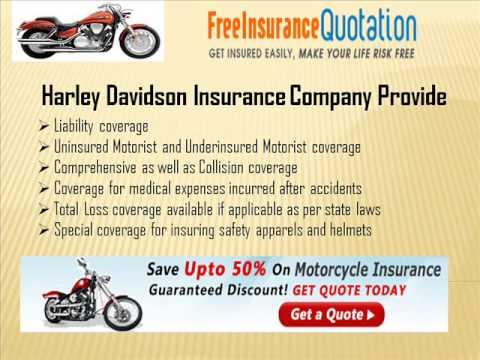 Harley Davidson Insurance Company