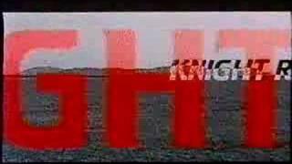 Knight Rider 2000 trailer