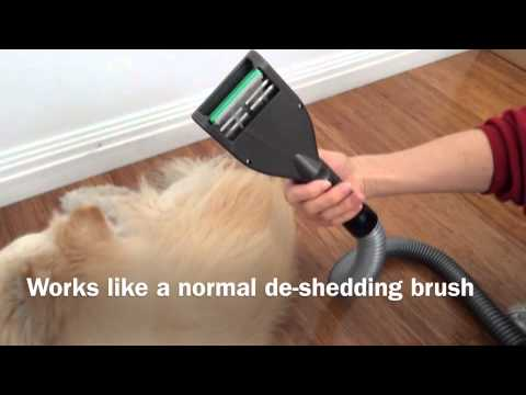 Demonstration For Vebo Vacuum Pet Grooming Tool Pgr041a