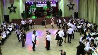 Taniec niespodzianka na studniówce we Wronkach 31. 01 .2014