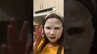 Face mask prank with my daughter and Puppy