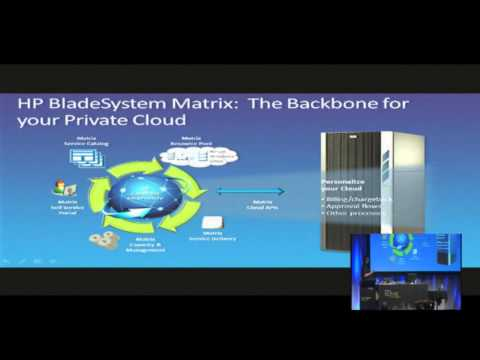 Tech·Ed New Zealand 2010 HP BladeSystem Matrix – Optimising Your physical and virtual server environ