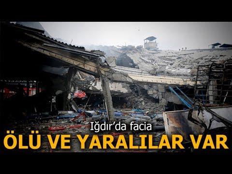 Iğdır'da Sanayi Sitesinde Patlama!