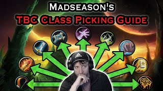 Staysafe Reacts to MadSeason's TBC Class Picking Guide