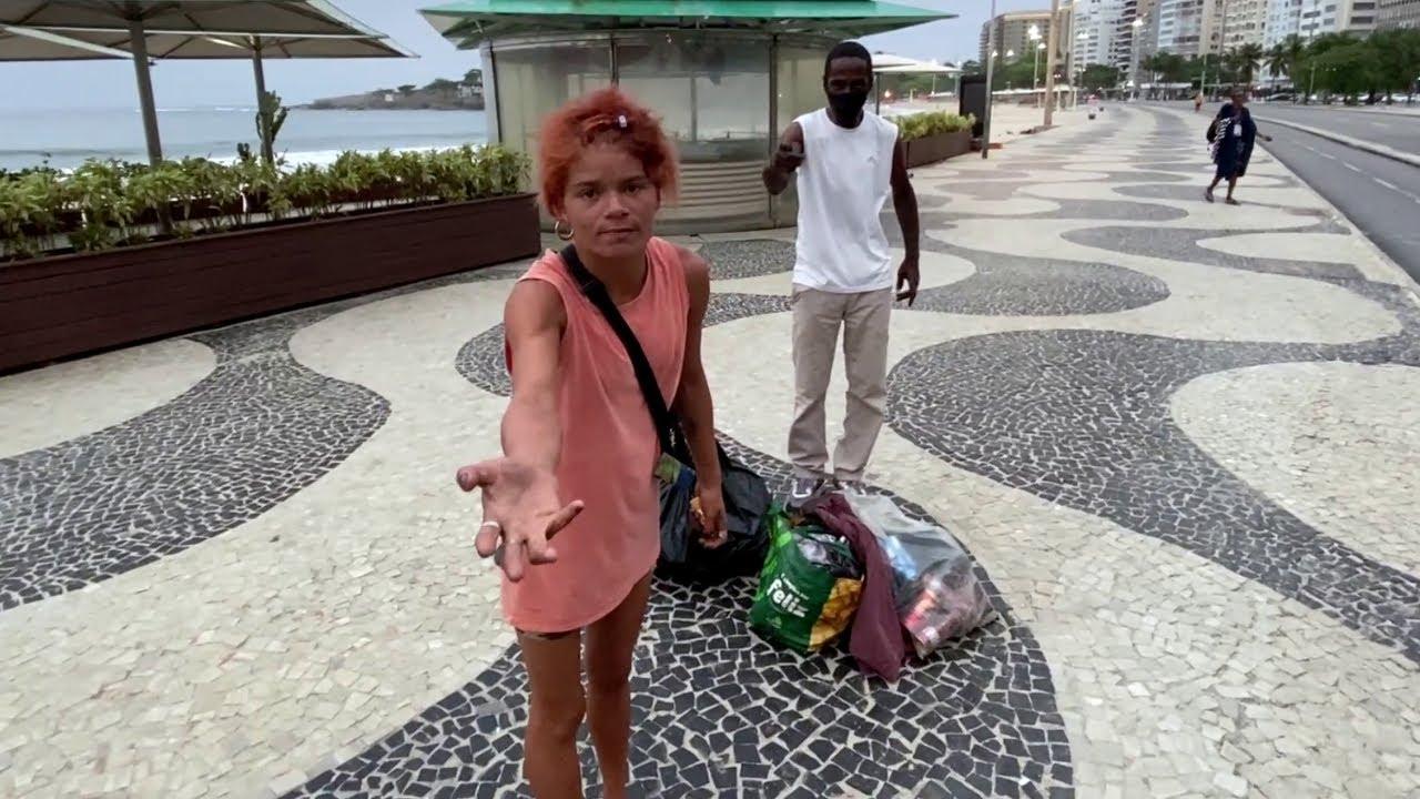 DROGATII fac legea pe plajele din RIO DE JANEIRO si m-au amenintat