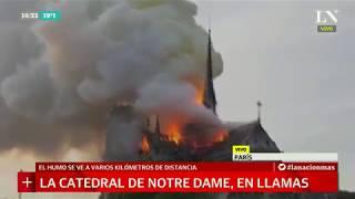 Se incendió la catedral de Notre Dame, imágenes de las llamas en París | +INFO por LN+