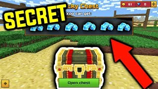 BUYING CHEST FROM SECRET CHINESE SHOP!! In Pixel Gun 3D! (Working 2018!)