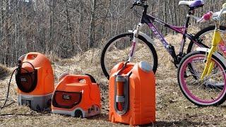 Совет дня: Мойка велосипедов мини-мойками Smart Washer