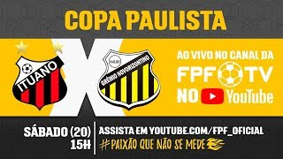 Ituano 1 x 2 Novorizontino - Copa Paulista 2018