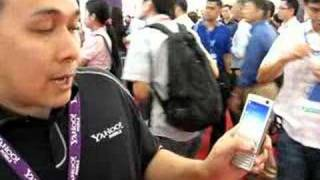 Yahoo Go 3.0 demo @ CommunicAsia 2008